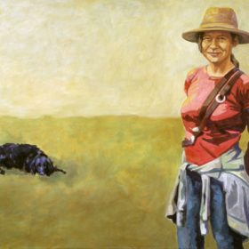 PuC I, 2007, Acryl auf Leinwand, 100 x 145 cm