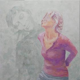 Fav #1, 2020, Acryl auf Leinwand, 90 x 90 cm